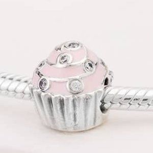 📿Pandora Pink Cupcake Charm